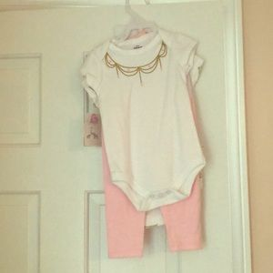 NWT 6 piece baby girl set
